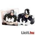 Eladó 18cm-es Marvel fekete Venom Pókember / Spider-Man ellenség mellszobor figura persely funkcióval - Új