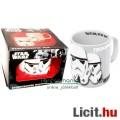 Eladó Csillagok Háborúja / Star Wars bögre - Stormtrooper domború mintás hivatalos bögre ablakos ajándékcs