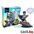 Eladó 10cmes Batman figura - Klasszikus TV megjelenéssel, talapzattal és szövegbuborékkal - QMx Q-POP Q-fi