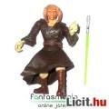 Star Wars figura - Saesee Tiin Jedi Mester figura saját fénykarddal, támadó pózban - mozgatható Csil