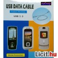 Eladó USB adatkábel LG KE800, KF900 Prada, KU990 Viewty