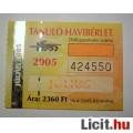 Eladó BKV Havibérlet Tanuló 2005 Július (Gyűjteménybe) (2képpel :)