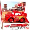 16cmes Cars / Verdák autó - Villám McQueen hangeffektes játék autó / verda - Disney Mattel