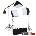 Új fotóstúdíó lámpa softbox 3db-os szett