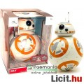 Eladó Star Wars óriás figura - 25cm-es önjáró BB-8 interaktív gömb droid figura fény- hangeffekttel és moz