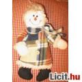 Eladó tündéri plüss hóember dekorációnak,játéknak