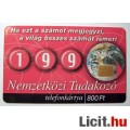 Telefonkártya 2000/07 - Tudakozó (2képpel :)