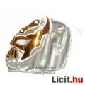 Eladó Pankráció maszk - Sin Cara szürke-fehér felvehető Pankrátor Maszk - Lucha / Luchardor mexikói típusú
