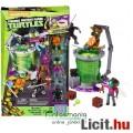 Tini Nindzsa / Ninja Teknőcök - Baxter, Talpas Ninja és Leonardo figura Mega Bloks építő játék szett