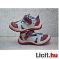 Új, Dr. Punto Rosso,olasz,piros-bézs kiscipő, 22-es