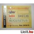 BKV Havibérlet (T.,Ny.) 2004 Augusztus (Gyűjteménybe) (2képpel :)