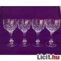 Eladó *Négy db kristály boros pohár