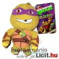 Eladó Tini Nindzsa Teknőcök - 13cm-es Donatello plüss figura hangeffekttel - Nickelodeon TMNT Ninja Teknős