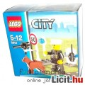 LEGO City / Város 5612 Rendőr minifigura kutya és trafipax kiegészítővel - Új, bontatlan