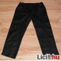 Fekete csípőnadrág kb. 36-38-as de mérve lábszárközépig érő