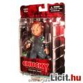 Eladó 12cm-es Chucky baba figura - Mezco Child's Play / Gyerekjáték horror mozi figura