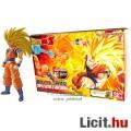 Eladó 16cm-es Dragon Ball Z figura - SSJ3 Son Goku / Songoku hosszú hajú mozgatható figura építő modell sz