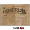 Eladó UJ FEHÉRVÁR - 1935 - II. évf. 76. sz.