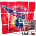 Eladó Transformers G1 Optimus Prime 15dbos Tech Spec mini kártya készlet teljes 3D grafika-kirakó hátlappa