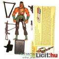 Eladó GI Joe figura - Nunchuck harcművész katona figura 100% komplett felszereléssel, filecarddal és t