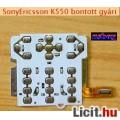 Eladó Bontott billentyűzet panel, fólia: SonyEricsson K550.