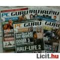 PC GURU - 2004 - 2 db. száma - DARABONKÉNT IS! - Melléletek nélkül!