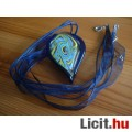 Álomszép egyedi Muránói üveg absztrakt  csepp medál nyaklánccal Vadiúj