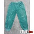 *Zöld plüss szabadidő női nadrág L-es