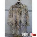 Eladó *LUX térdig érő elegáns bunda/kabát kb 40/42