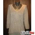 Eladó MEXX fehér kötött pulóver,méret:M