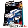 Eladó Star Trek - mini USS Enterprise építhető űrhajó világító talppal - 39 elemes LEGO típ. építőjáték -
