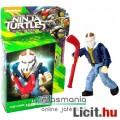 Tini Nindzsa / Ninja Teknőcök 4-5cmes Casey Jones figura hokimaszkal és ütővel - Mega Bloks mozgatha