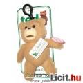 15cm-es TED maci figura hangeffekttel - Új címkés Ted mackó beszélő plüss figura