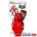 Halo Drop Pod - piros ODST Spartan figura fegyverrel