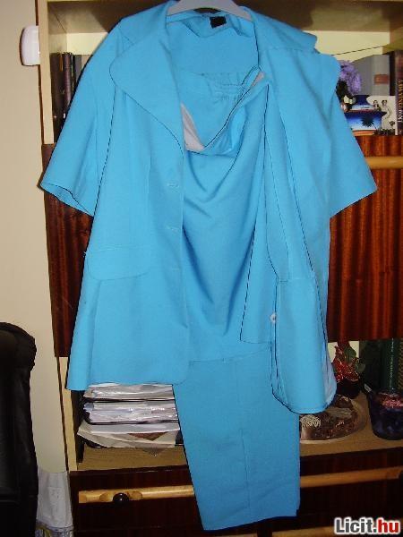 89b47d3be2 Licit.hu Szép kék háromrészes 46-os kosztüm Az ingyenes aukciós ...