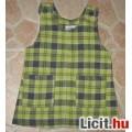 Eladó Foliere zöld kockás kötényruha,méret:80