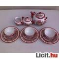 Eladó Kínai motívumos porcelán teás-, kávéskészlet