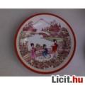 Kínai motívumos porcelán teás-, kávéskészlet