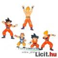 Dragon Ball / Dragonball figura - hiányos Son Goku, Gohan, 5db retro Boolz mini figura - használt