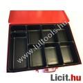 Szortiment doboz 8 rekeszes zárható fém