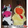 Eladó Kiváló minőségű plüss boci és kakas kesztyűbáb csomag játék