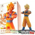 16cm-es Dragon Ball Z figura - SSJ2 Son Goku Super Saiyan szobor figura - Banpresto DXF The Super Wa