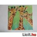 szalvéta - zsiráfok
