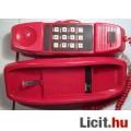 Piros Vezetékes Telefon Teszteletlen (3képpel :)