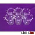 Eladó *Schott Mainz Jenaer Glas Teás pohár készlet