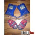 Thomas a gőzmozdony gumicsizma kocsicipő szobacipő