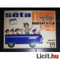 Eladó Séta Budapesten Városnéző Társasjáték Antik (1967) Hiányos (6képpel :)