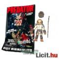 Eladó 6cmes Minimates Predator figura - City Hunter Predator mozgatható minifigura cserélhető fejjel és lá