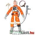 Star Wars figura - Luke Skywalker extra-mogzatható figura X-Wing Pilot / Pilóta ruhás, ráadható sisa