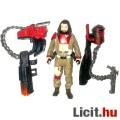 Eladó 10cm-es Star Wars figura - Baze Malbus figura kétféle hátizsákos fegyverrel - 5 ponton mozgatható új